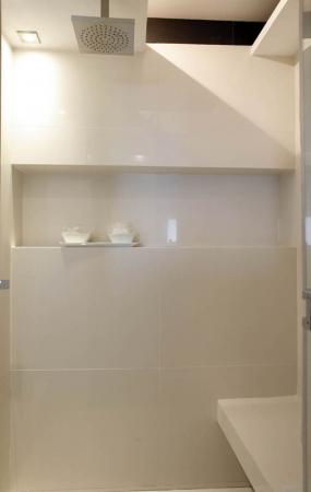 עיצוב של מקלחון בנוי | עיצוב פנים