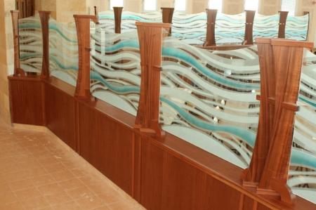 עיצוב של בית הכנסת בית הארון אפרת | עיצוב פנים
