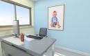 עיצוב של חדר עבודה במשרד תקשורת | עיצוב פנים