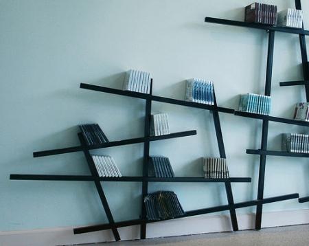 עיצוב של ספריה לקיר משרד | עיצוב פנים