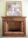 עיצוב של איטור קמין בעץ | עיצוב פנים