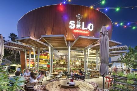 עיצוב של מסעדת סילו silo | עיצוב פנים
