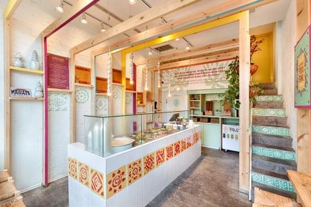 עיצוב של poke אוכל רחוב מהואי   עיצוב פנים