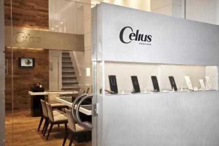 עיצוב של celius חנות תכשיטים  | עיצוב פנים