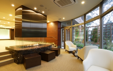 עיצוב של עיצוב לובי בניין מגורים   עיצוב פנים