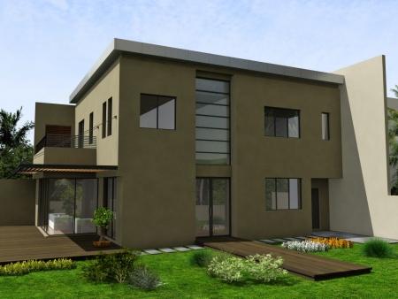 עיצוב של בית פרטי, חזית צד | עיצוב פנים