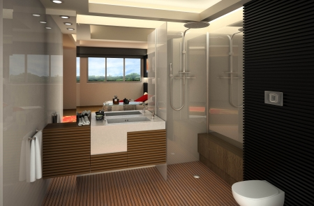 עיצוב של דירה לדוגמא «רסקו« | עיצוב פנים