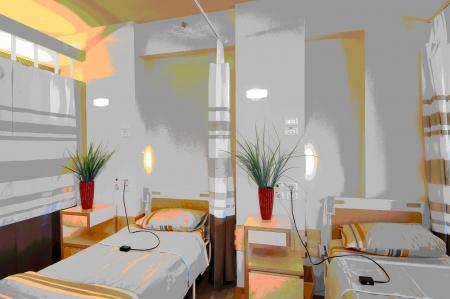 עיצוב של חדרי אישפוז בי«ח | עיצוב פנים
