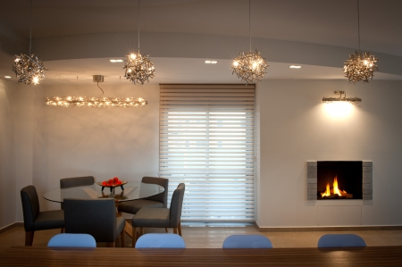 עיצוב של luxury living area | עיצוב פנים