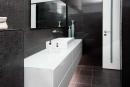 עיצוב של אמבטית חדר הורים מודרנית | עיצוב פנים