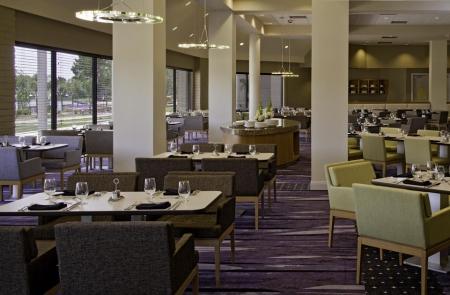 עיצוב של חדר אוכל מלון, טקסס | עיצוב פנים