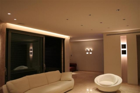 תאורה אדריכלית - דירות
