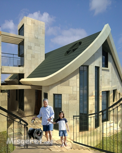 חזית בית פרטי בדניה חיפה