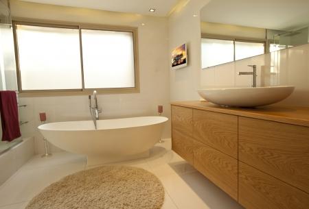 עיצוב של אמבטיה בבית פרטי בדניה | עיצוב פנים