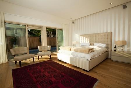 עיצוב של חדר שינה בבית פרטי בדניה | עיצוב פנים