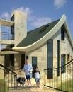 עיצוב של חזית בית פרטי בדניה חיפה | עיצוב פנים