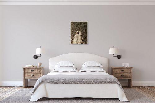 תמונה לחדר שינה - ארי בלטינשטר - ספינה בשקיעה - מק''ט: 105876