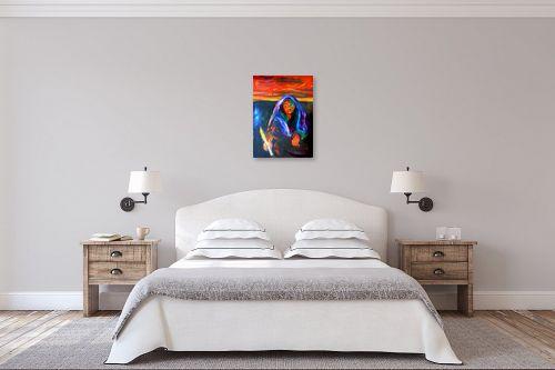 תמונה לחדר שינה - אסתר חן-ברזילי - אשה - מק''ט: 106863