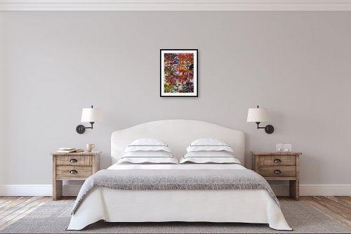 תמונה לחדר שינה - אסתר חן-ברזילי - אביב - מק''ט: 106879