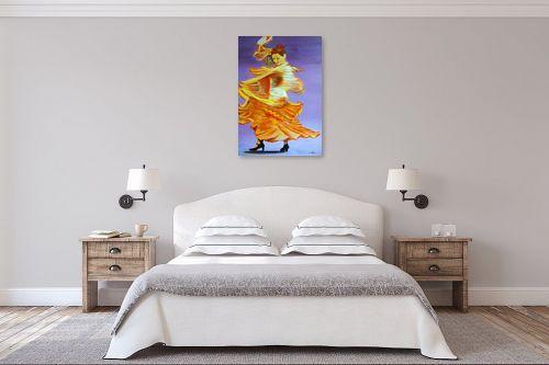 תמונה לחדר שינה - אסתר חן-ברזילי - רקדנית פלמנקו - מק''ט: 106969