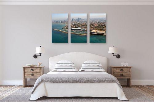 תמונה לחדר שינה - ארי בלטינשטר - נמל יפו - מק''ט: 114209