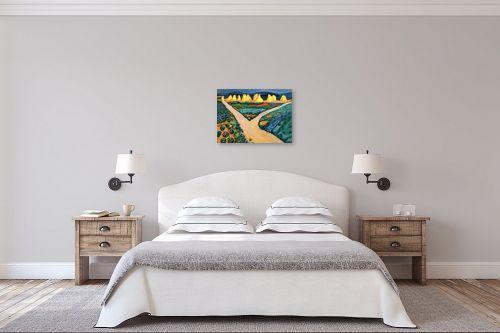 תמונה לחדר שינה - אוגוסט מקה - August Macke 125 - מק''ט: 115710
