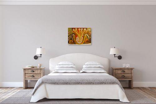 תמונה לחדר שינה - אסתר חן-ברזילי - פריחת האהבה - מק''ט: 120981