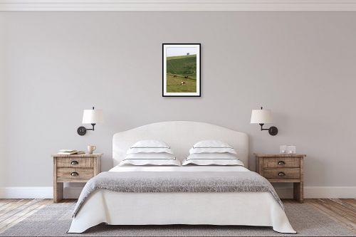 תמונה לחדר שינה - מיכל פרטיג - רוגע - מק''ט: 121324