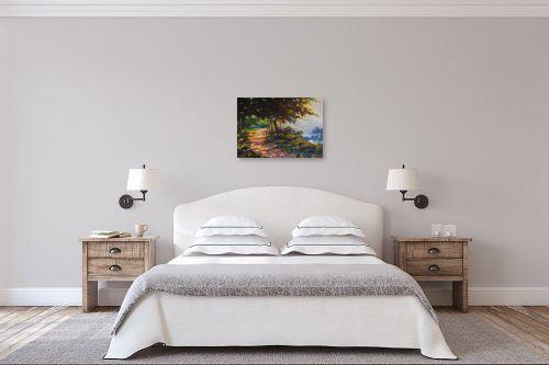 תמונה לחדר שינה - נטליה ברברניק - יער  - מק''ט: 122042