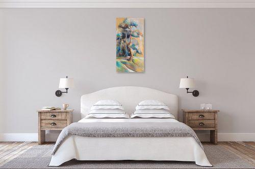 תמונה לחדר שינה - נטליה ברברניק - אורנים - מק''ט: 122107