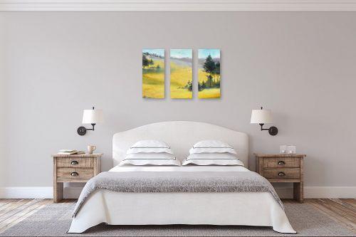 תמונה לחדר שינה - נטליה ברברניק - בין הגבהות - מק''ט: 122521