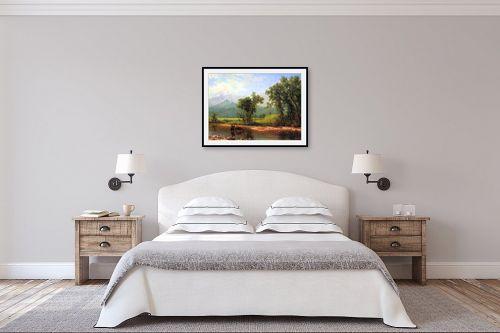 תמונה לחדר שינה - אלברט בירשטאדט - Albert Bierstadt 065 - מק''ט: 124673