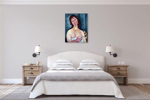 תמונה לחדר שינה - אמדאו מודיליאני - Amedeo Modiglian 012 - מק''ט: 131721