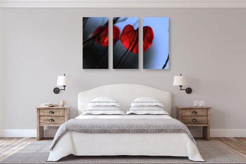 תמונה לחדר שינה - מיכל פרטיג - פעימות הלב - מק''ט: 132039