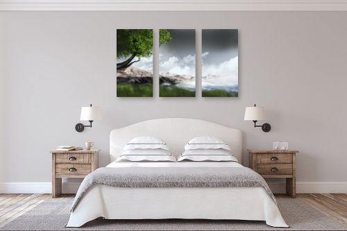 תמונה לחדר שינה - Red סטודיו - mountains - מק''ט: 132115
