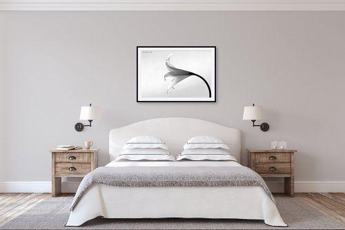 תמונה לחדר שינה - שרית סלימן - שחור ולבן - מק''ט: 134516
