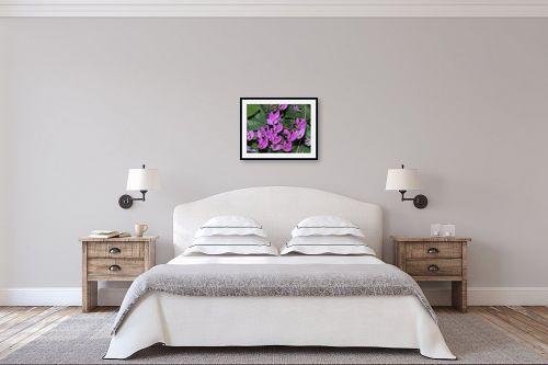 תמונה לחדר שינה - אריק בלקינד - פתלתלות הרקפות - מק''ט: 140399