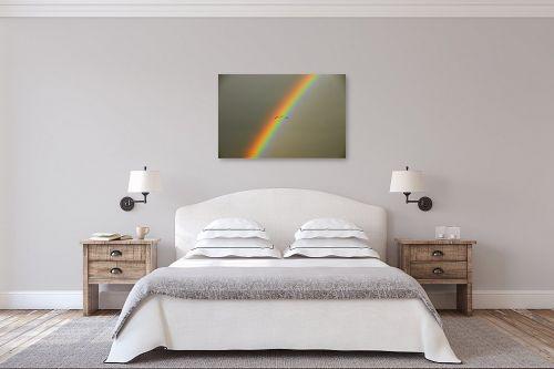 תמונה לחדר שינה - אייל הצפון - עגורים בקשת - מק''ט: 141441