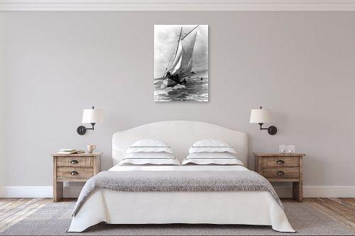 תמונה לחדר שינה - דוד לסלו סקלי - תל אביב 1937 - זאב הים - מק''ט: 141841