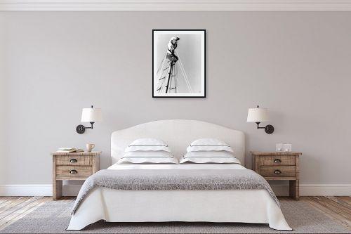 תמונה לחדר שינה - דוד לסלו סקלי - תל אביב 1939 על ראש התורן - מק''ט: 143092