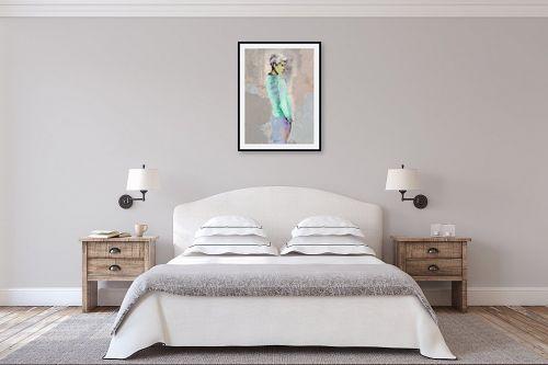 תמונה לחדר שינה - דוד סלע - מלאך - מק''ט: 143480