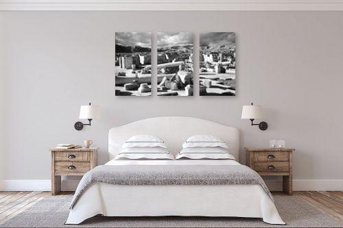 תמונה לחדר שינה - דוד לסלו סקלי - יריחו 1945 - חפירות - מק''ט: 144232