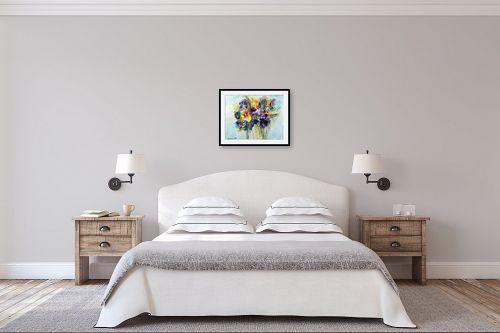 תמונה לחדר שינה - מרים קופפרשטיך - זר פרחי שדה - מק''ט: 149687