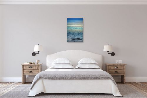 תמונה לחדר שינה - איה אפשטיין - אבן במים - מק''ט: 154597