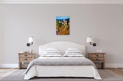 תמונה לחדר שינה - רוחלה פליישר - בתים כפריים - מק''ט: 156738