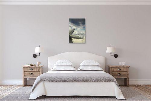 תמונה לחדר שינה - משה יפה - לחתוך את השמיים - מק''ט: 156968