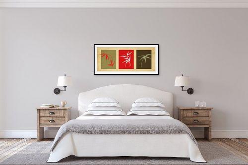 תמונה לחדר שינה - נעמי עיצובים - במבוק שלישיה - מק''ט: 158132