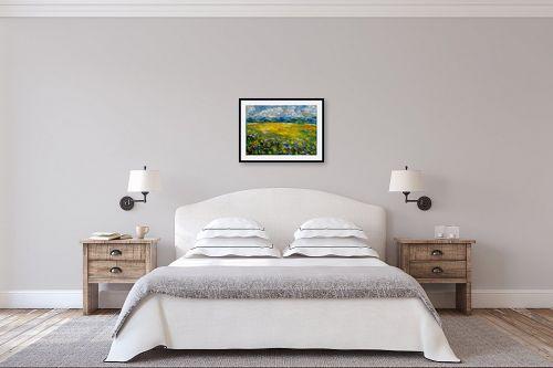 תמונה לחדר שינה - שולי חיימזון - שדות - מק''ט: 158293