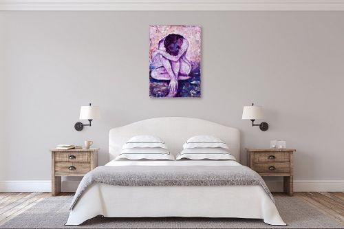 תמונה לחדר שינה - שולי חיימזון - עירום - מק''ט: 158456