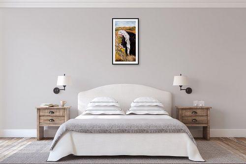 תמונה לחדר שינה - שולי חיימזון - קציר - מק''ט: 158542